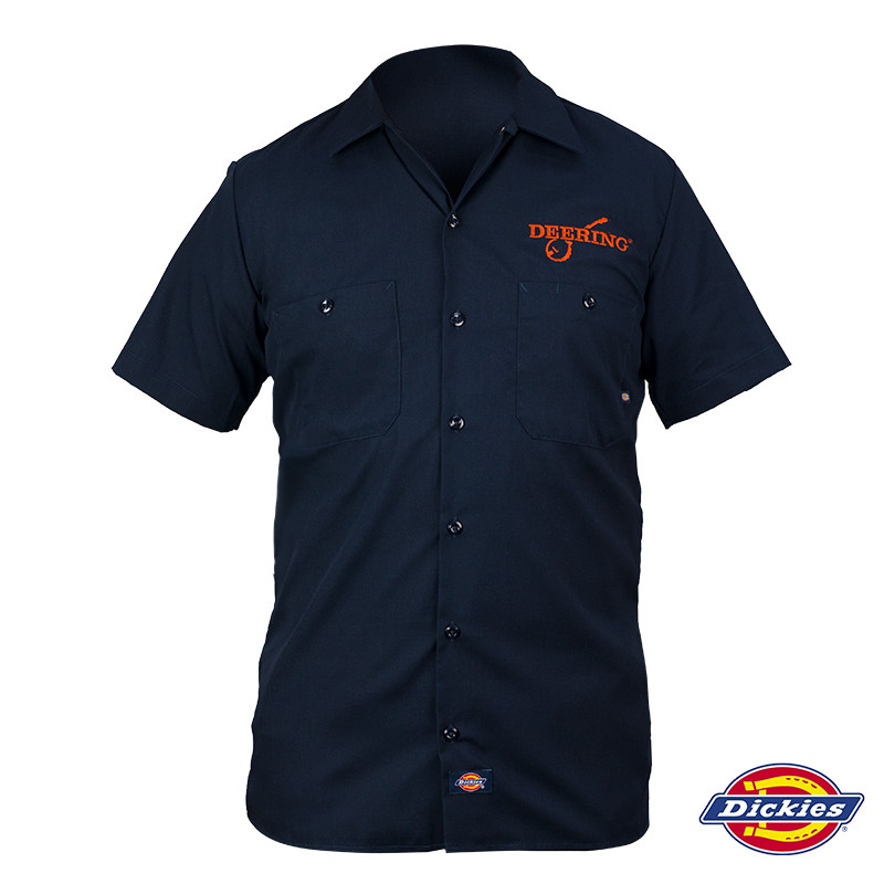 deering banjos work shirt by dickies