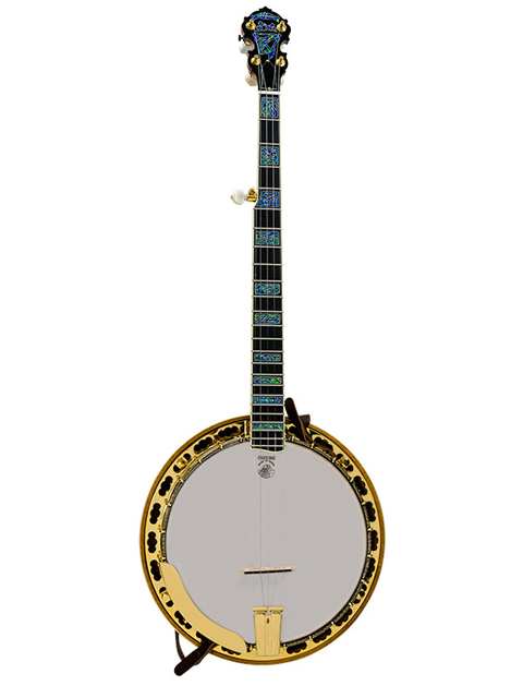 deering tony trischka golden clipper banjo