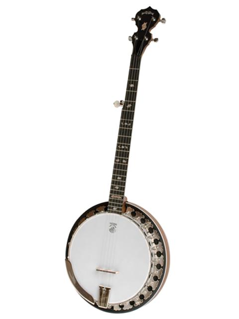 left handed deering boston 5 string banjo