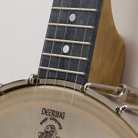 vega white oak banjo by deering